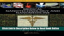 Read Medical Nanotechnology and Nanomedicine (Perspectives in Nanotechnology)  PDF Free