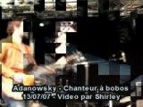 Adanowsky chanteur a bobos