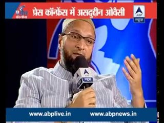 ABP News Special: Asaduddin Owaisi in Press Conference