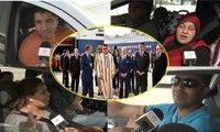 """إرتسامة أفراد الجالية المغربية بعد زيارة جلالة الملك محمد السادس لـ""""ميناء طنجة المتوسط"""""""