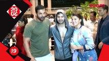 John Abraham, Varun Dhawan and Jacqueline Fernandez promote 'Dishoom' in Nagpur - Bollywood News #TMT