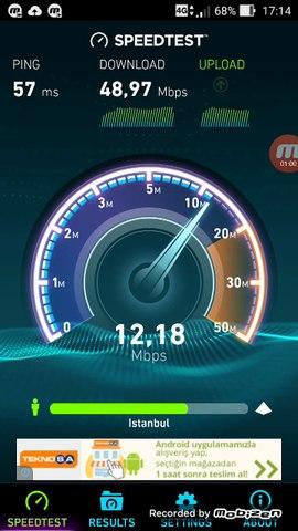 4.5G Hız Testi