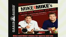 FREE PDF  Mike and Mikes Rules for Sports and Life READ ONLINE
