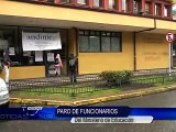 FUNCIONARIOS DEL MINISTERIO DE EDUCACION EN PUERTO MONTT EN PARO DE 24 HORAS