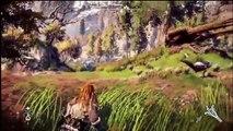 Horizon Zero Dawn - 9 minutes gameplay Sony Japan