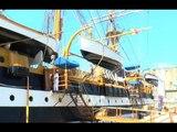 Napoli - La nave scuola Amerigo Vespucci nel Golfo (29.06.16)