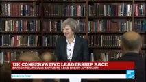 UK Conservative leadership race: Theresa May to run for Conservative Party leadership