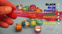 Learn Colours With Ooze and Glitter Putty! Fun Learning Contest!_12