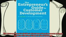 book online   The Entrepreneurs Guide to Customer Development A cheat sheet to The Four Steps to the