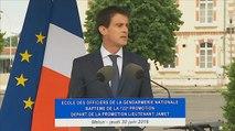 Ecole des officiers de la Gendarmerie Nationale : discours de Manuel Valls