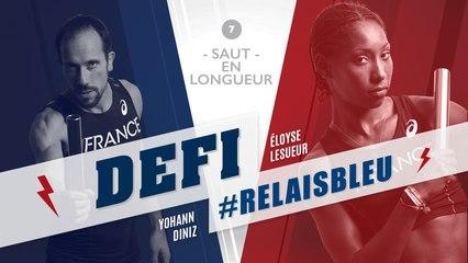 Défi #Relaisbleu n°7 | Eloyse Lesueur & Yohann Diniz