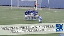 L'Islande a créé les meilleures célébrations de but