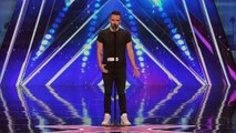 Brian Justin Crum- Singer Gets Standing Ovation with Powerful Cover - America's Got Talent 2016