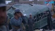 Taliban Suicide Bombers Attack Afghan Police 27 Killed