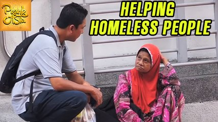 Helping Homeless People During Ramadan | Social Experiment In Malaysia | Prank Asia