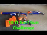 Nerf Gun Challenge (With Cyrus & Lucas)