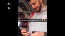 Euro Cup Sampiyonu Galatasaray O. Vladimir Micov Safak Edge Ege Arar İbrahim Tatlises - Mavi Mavi Şarkisini söylüyor