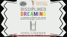 behold  Disciplined Dreaming A Proven System to Drive Breakthrough Creativity