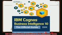 there is  IBM Cognos Business Intelligence 10 The Official Guide