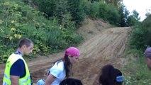 Quand t'essaies de grimper une colline trop abrupte en Jeep : Fail