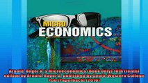 Popular book  Arnold Roger As Microeconomics Book Only 10th tenth edition by Arnold Roger A