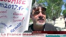 Nouvelle manifestation et nouveau défilé, dans les rues de Montpellier contre la loi Travail
