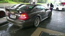 BEST of Mercedes-Benz AMG SOUNDS! SLS AMG, C63 AMG Black Series, CLK AMG DTM