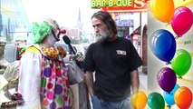 Yucko the Clown Uncensored Insults People On Street In Nashville Tennessee