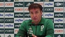 Cuca mostra animação com bom futebol do Palmeiras e exalta Gabriel Jesus