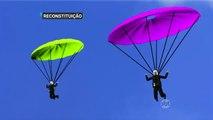 SP: Paraquedistas se chocam no ar e morrem após salto em Boituva