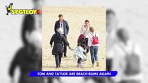 Tom Hiddleston and Taylor Swift are Beach Bums again