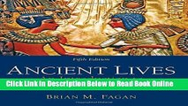 Read Ancient Lives: An Introduction to Archaeology and Prehistory  PDF Free