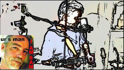 Let It Go (uncut) with Lyrics by UR S MAN (Sam Reeves) live guitar, vocal