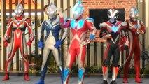 【Ultraman 5 large Hero show】Ultraman ginga S / Victory / MAX / Nexus / Cosmos appeared!