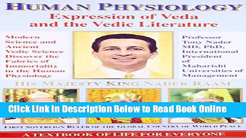 Read Human Physiology: Expression of Veda and the Vedic Literature  PDF Free
