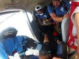 Ce parachutiste perd son parachute en plein vol !! Filmé à la GoPro