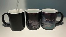 hp mugs harry potter after all this time coffee mugs Black heat changing color Tea Cups