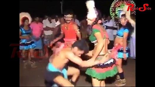Latest Tamil Village Karakattam Hot Dance - kuravan