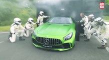 VÍDEO: Mercedes AMG GT R en circuito