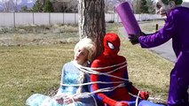 Frozen Elsa Twin Babie | Spiderman & Frozen Anna Funny Superhero movie in real life Frozen Elsa Baby | Funny Spiderman | Funny Supperhero