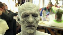 Game of Thrones making of : les prothèses des marcheurs blancs