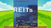 there is  Investing in REITs Real Estate Investment Trusts Third Edition Bloomberg