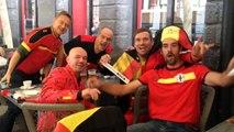 "Pays de Galles-Belgique: les supporters belges chantent ""Waar is da feestje, hier is da feestje"""