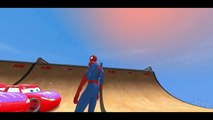New Spiderman vs 25 Disney Custom Spider McQueen Cars w- Children Nursery Rhyme with Action_2