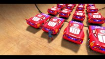 New Spiderman vs 25 Disney Custom Spider McQueen Cars w- Children Nursery Rhyme with Action_3