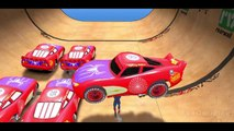 New Spiderman vs 25 Disney Custom Spider McQueen Cars w- Children Nursery Rhyme with Action_5