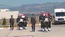 Şehit Uzman Çavuş Avcı ve Aktaş Törenle Memleketlerine Uğurlandı