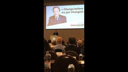 Discours de Didier Gailhaguet - Présidence à l'ISU 2016