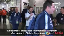 Lionel Messi Announce International Retirement after defeat to Chile in Copa