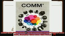 behold  COMM with COMM Online 1 term 6 months Printed Access Card New Engaging Titles from